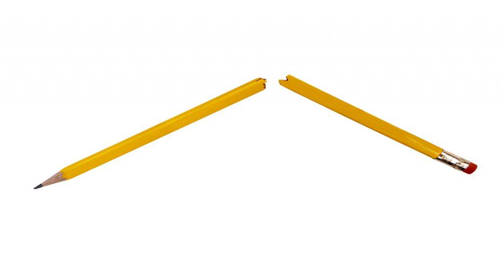 Pencil, Penis, Man, Fracture, Broken
