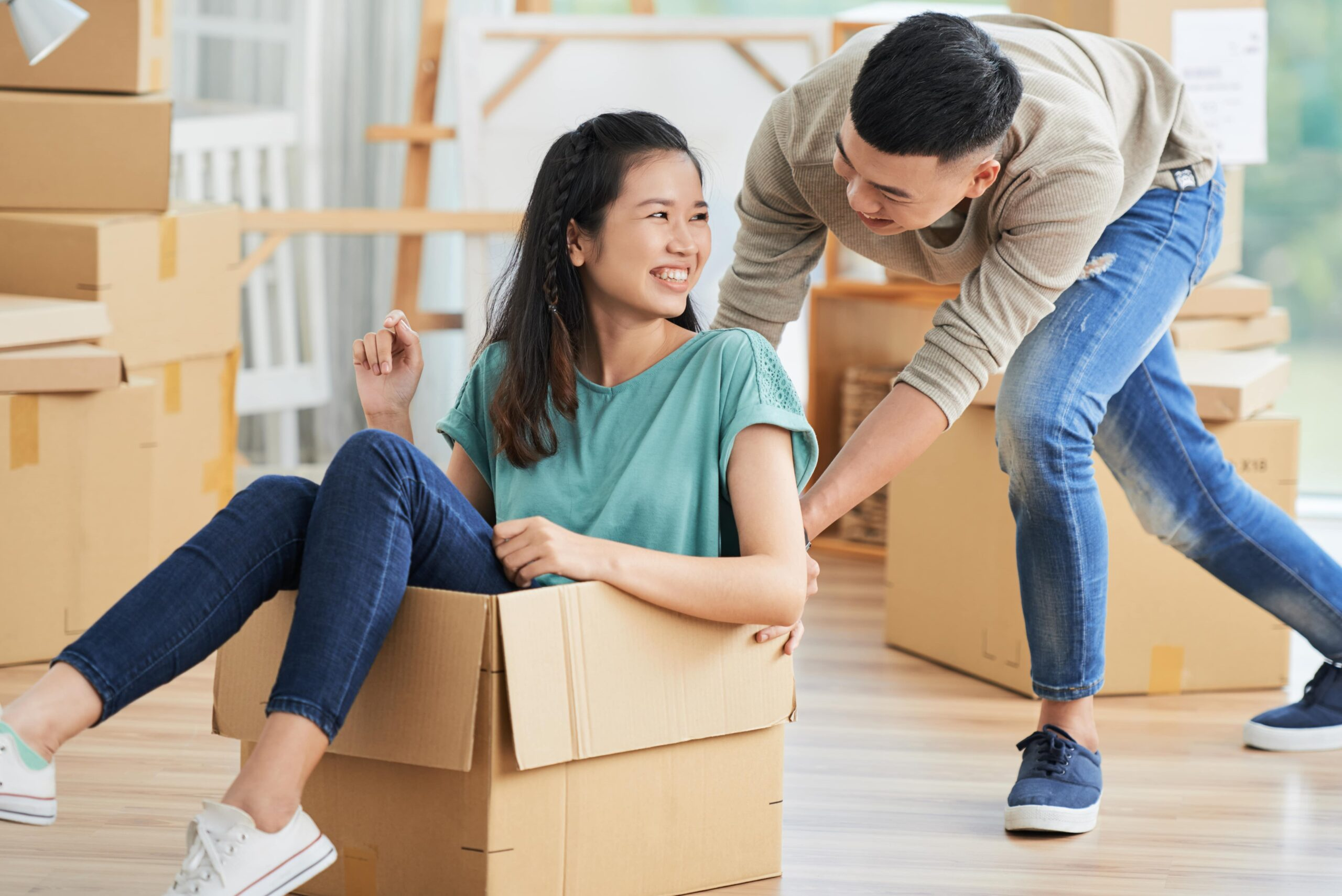 You're Ready to Move In Together