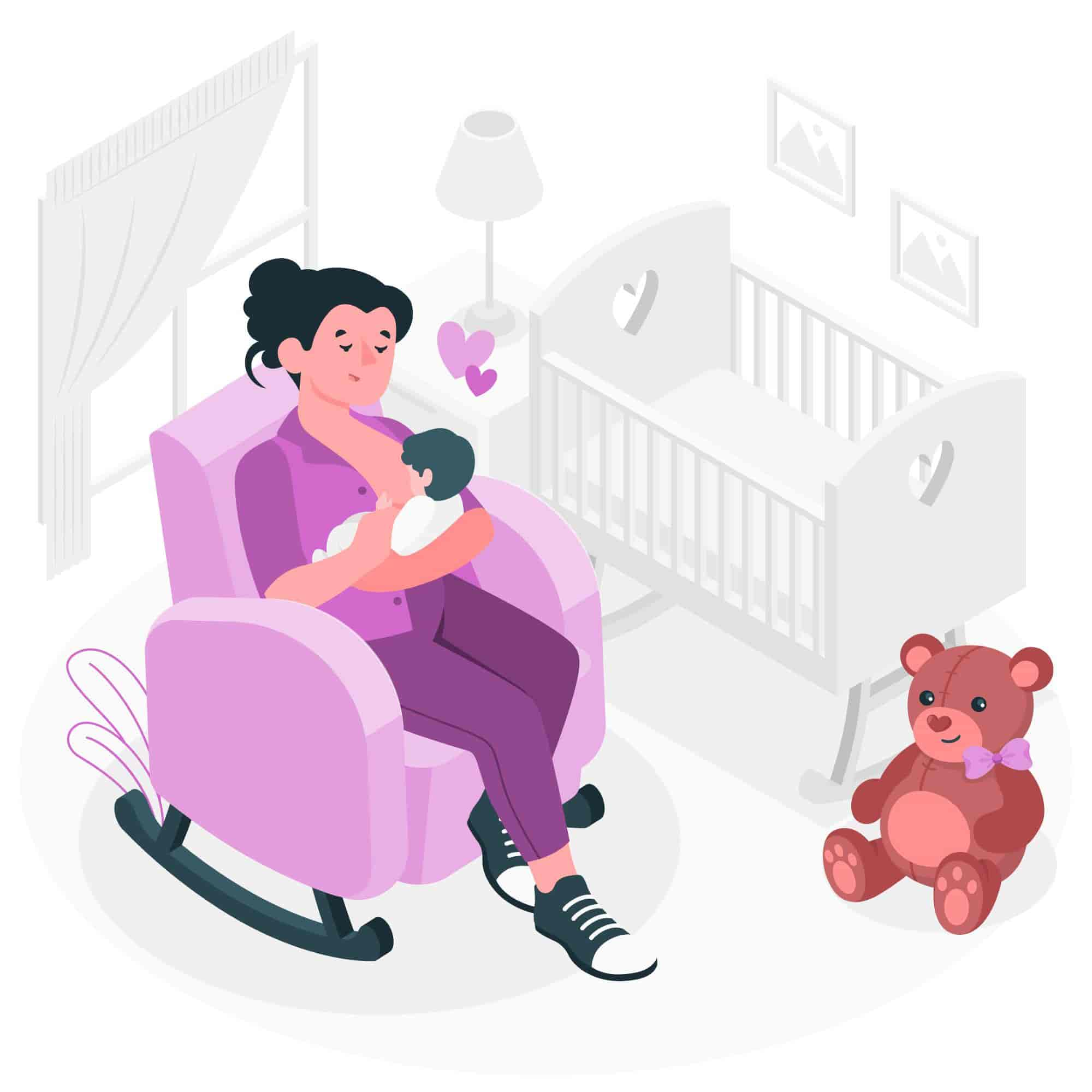 Things You Might Experience when breastfeeding